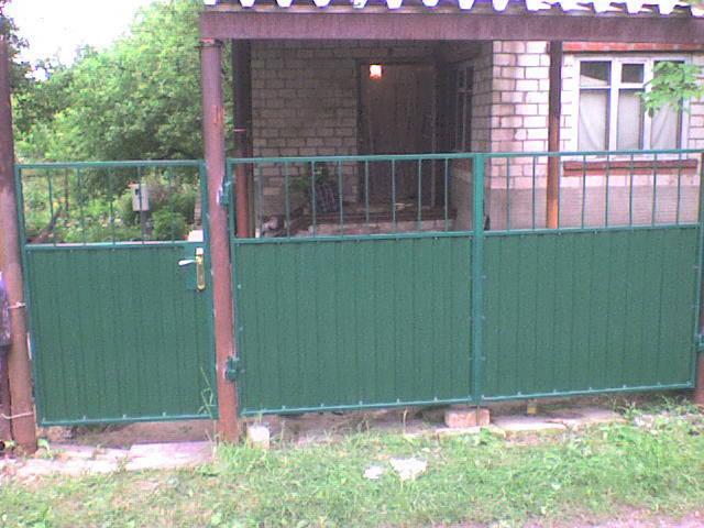 Монтаж ворот и калиток -1