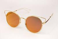 Оригинальные женские  солнцезащитные очки , фото 1