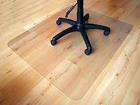 Защитное напольное покрытие (защитный коврик) прямые края 1.8мм, 1,0*1,0м