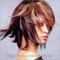 Окрашивание волос до 15 см (работа)