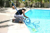 Обслуживание и весенний запуск бассейна