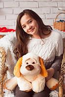 Мягкая игрушка плюшевая собака Бимка 1