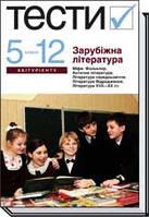 Тести Зарубіжна література 5 11 класи Ніколенко