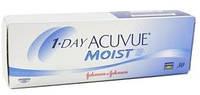 Однодневные контактные линзы 1 Day Acuvue Moist 30-шт