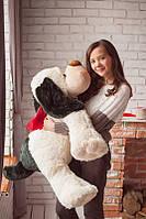 Мягкая игрушка большая плюшевая собака Бимка 3