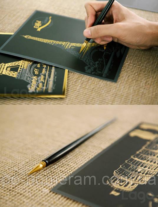 Премиум скретч-ручка Lago (в упаковке) - Картины по номерам, раскраски по цифрам в Киеве