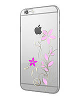 Чехол для iPhone 6/6S - Hoco Super star series (Swarovski Diamond Flourish)