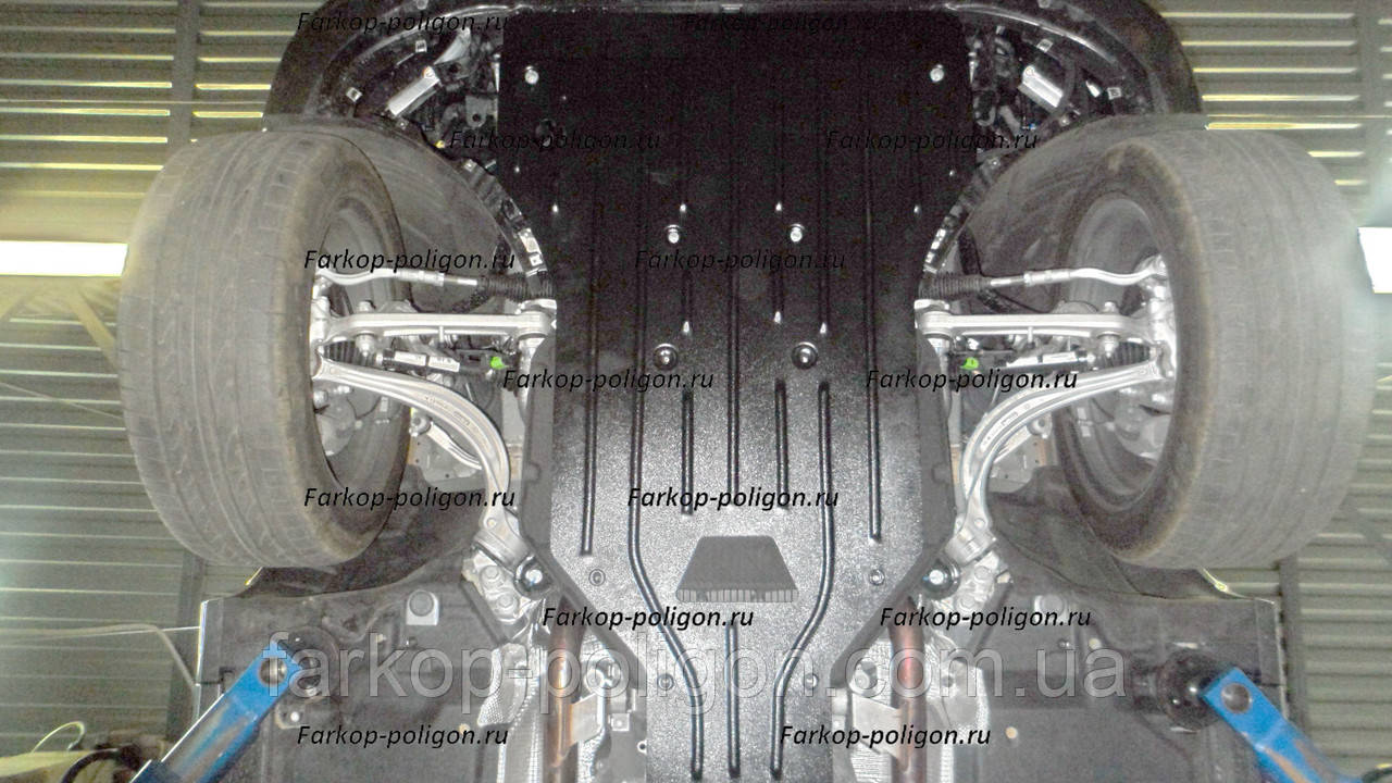 Защита картера AUDI Q7 3,0TFSi АКПП c-2015 г.