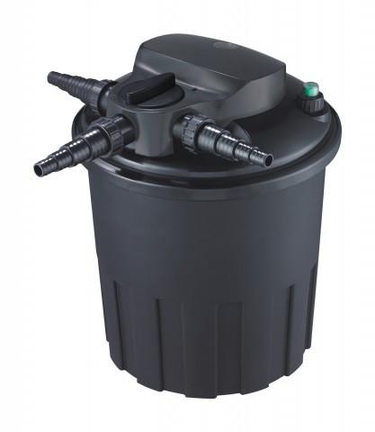 Напорный фильтр для пруда AquaNova NBPF-12000 УФ-лампа 18w с обратной промывкой.