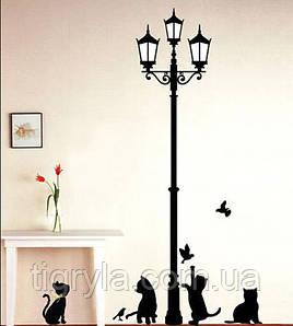 Декоративная наклейка Коты