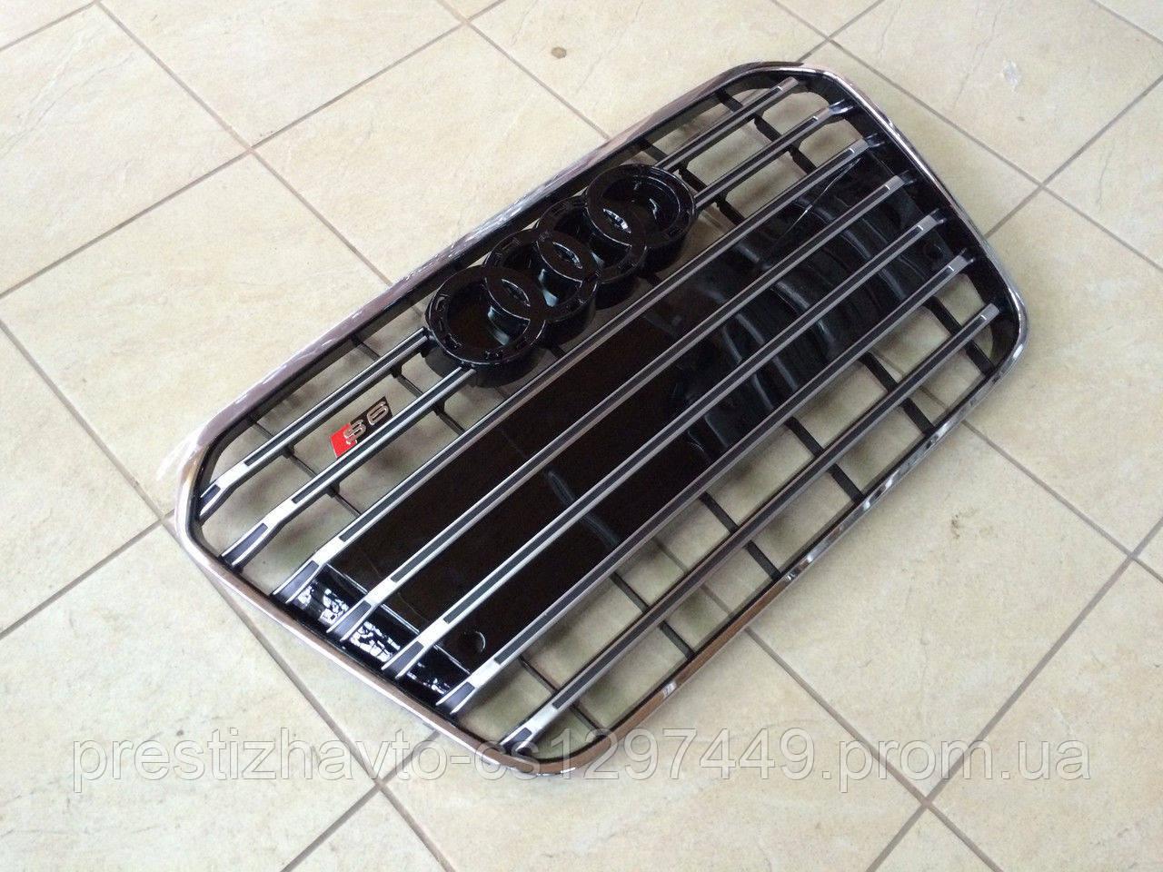 Решетка радиатора на Audi A6 C7 (2012-2015)