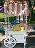 Тележка для Кенди бар (Candy bar) в стиле шебби шик, фото 4