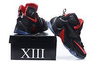 Кроссовки мужские NIKE LEBRON 13 баскетбольные D420 черные