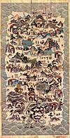Оригинальный подарок - карта острова Хайнань