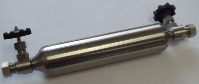 Пробоотборник (контейнер) ПГО-400 Бесшовный по ISO 4257 и ASTM D1265