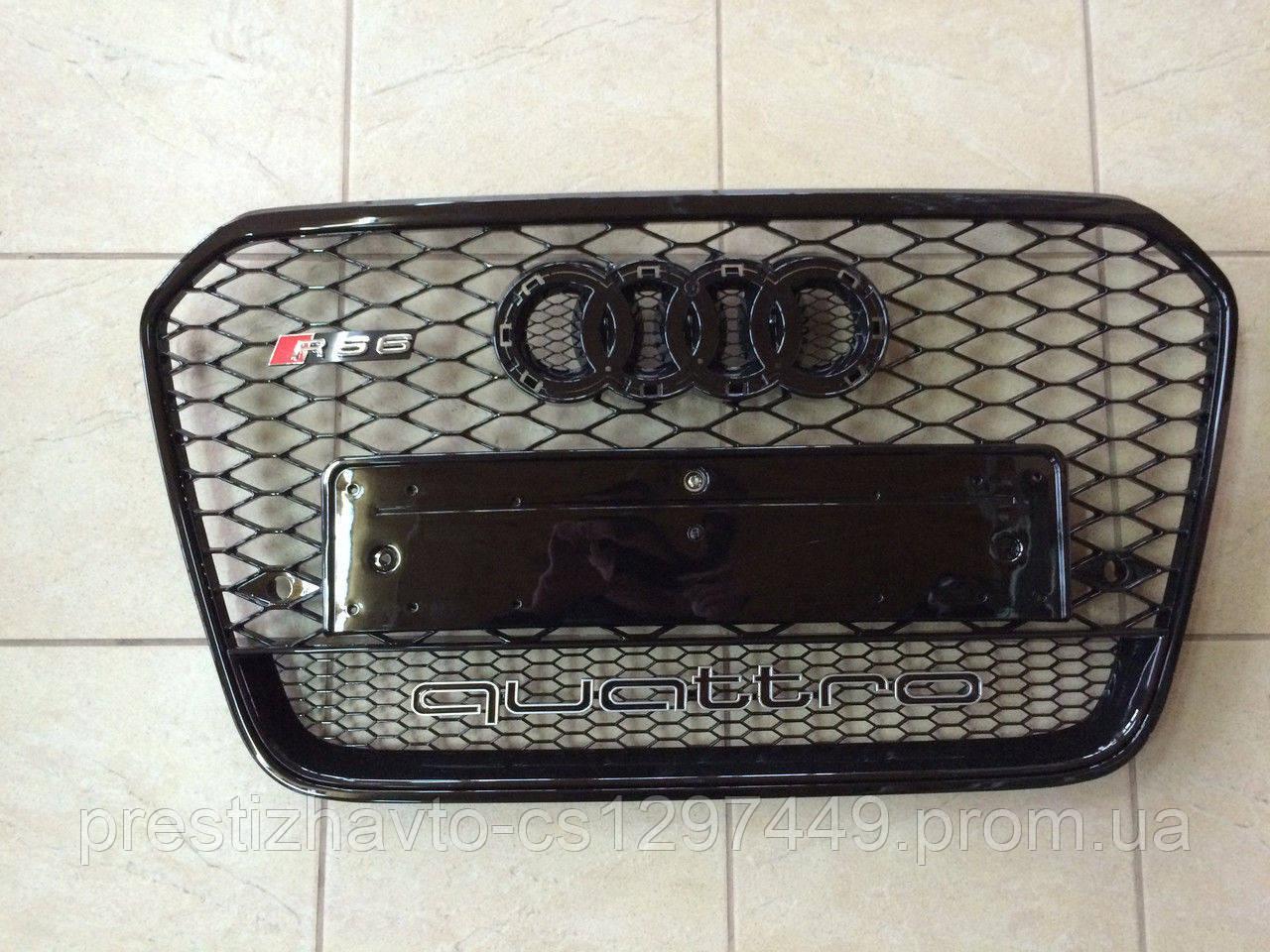Решетка радиатора на Audi A6 RS6 Quattro (2012-2015)