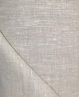 Серая льняная ткань 100% лен, цвет 330