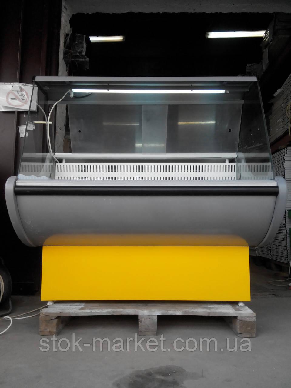 Холодильная витрина Росс Rimini 1,3 м. б у, холодильный прилавок б/у, камера холодильная б/у, витрина б/у