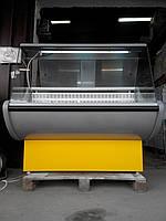 Холодильная витрина Росс Rimini 1,3 м. б у, холодильный прилавок б/у, камера холодильная б/у, витрина б/у, фото 1
