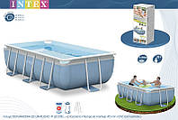 Каркасный бассейн Intex Prism Frame Pool 400x200x100 28316/54182/28350