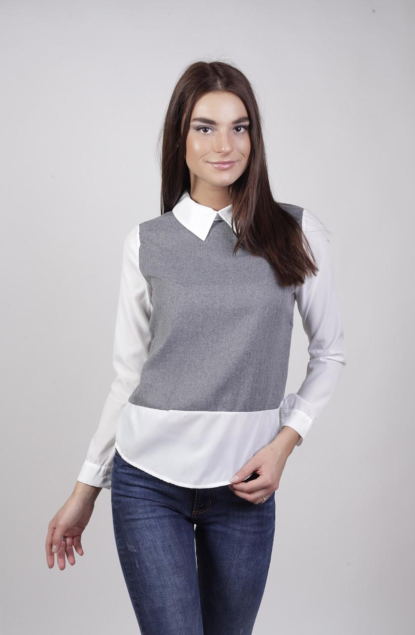 Жилетка-блузка СС5498