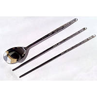 Металлические палочки для еды «Символ счастья»