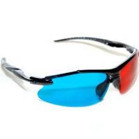3D стереоочки анаглифные 3D Glasses + загрузочный диск