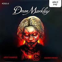 Струны DEAN MARKLEY 2502-J5 JOHN5 SIGNATURE ELECTRIC LT (09-42)