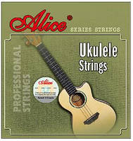 Струны для укулеле  Alice AU02