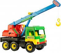 Игрушечная машинка Middle Truck кран Wader Тигрес