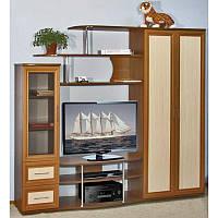 """Горка мебельная, стенка для гостиной со шкафом """"Лира -2"""""""