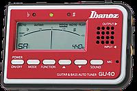 Тюнер IBANEZ GU40 TUNER RED