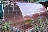 Теплица Люкс К 3х6х2м с поликарбонатом Greenhouse NANO 8 мм