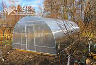 Теплица Люкс К 4х6х2,5м с поликарбонатом Greenhouse 4 мм