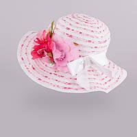Модная шляпа для девочки арт.145. 3-002557(р.52)