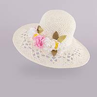 Шляпа для девочки арт. 157 арт.3-002560(56)