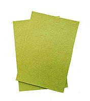 Фетр вискоза, толщина 2мм, 20х30см, зеленый болотный