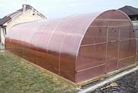 Теплица НОРД 4х6х2,5м с поликарбонатом Greenhouse NANO 4мм