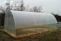 Теплица Люкс Ц 3х4х2м с поликарбонатом 4 мм