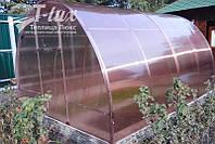 Теплица Люкс Ц 3х4х2м с поликарбонатом Greenhouse NANO 4 мм