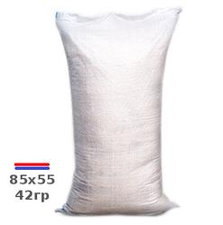 Мешок полипропиленовый 85х55см 43г на 50кг к/с полоса ЭКОНОМ