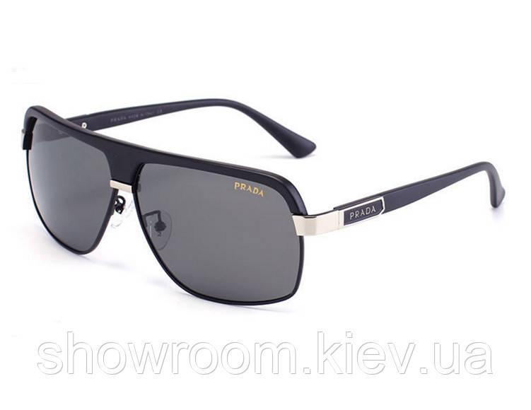 Солнцезащитные очки в стиле Prada (PR 038) silver