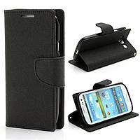 Чехол книжка для Samsung Galaxy S3 i9300i Duos боковой, Mercury GOOSPERY Fancy Diary, черный