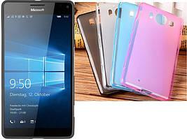 Силиконовый чехол для Microsoft Lumia 950