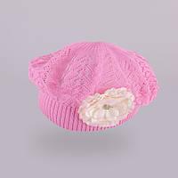 Берет демисезонный для девочки TuTu 6. арт. 3-002546 (46-50,50-54) 50-54, Розовый