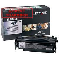 Lexmark Картридж (12A8425_DU) Black (Черный) дефект упаковки