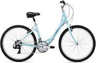 Городской женский велосипед Giant Sedona W голубой S/16 (GT)