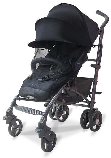 Солнцезащитный козырек на коляску с москитной сеткой (черной)