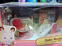 Детский игровой набор Sylvanian Families Baby room (мебель детской комнаты)