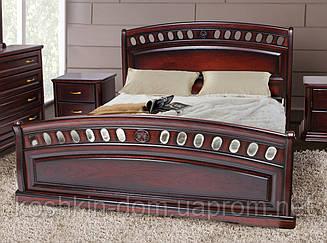 Ліжко двоспальне Флоренція 160*200 масив дуба